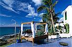 Bar de la plage La Ola à Puerto del Carmen, Lanzarote, îles Canaries, Espagne