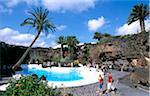 Jameos del Agua, Lanzarote, îles Canaries, Espagne