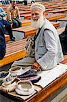 Un vendeur à Istanbul, Turquie