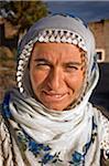 Femme de Soganli vêtu d'un costume traditionnel. Cappadoce, Turquie, Asie