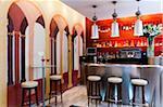 Bar in Mirador de Dalt Vila Hotel, Ibiza, Balearic Islands, Spain