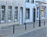Street Scene in Historic Town Centre, Aachen, North Rhine-Westphalia, Germany