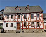 An old frame house, Limburg an der Lahn, Hesse, Germany