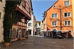 Historic City, Meersburg, Baden-Wurttemberg, Germany