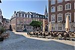 Historique City Centre, Aix-la-chapelle, Rhénanie du Nord-Westphalie, Allemagne