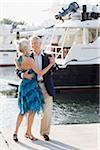 Couple Dancing Dockside