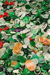 Jade charms at the Jade Market, Hong Kong, China