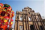Ruines de l'église St. Paul, Macau, Chine