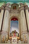 Église de St.Augustine, dos de Statue de Bom Jesus Passos, Macau, Chine