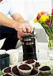 Coffee pot et Reine des gâteaux, Suède.