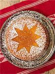 A saffron cake, Sweden.