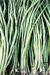Bundle de haricots dans le marché