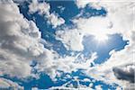 Clouds, Dusseldorf, North Rhine-Westphalia, Germany