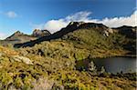 Cradle Mountain et lac Lila, Cradle Mountain-Lake St Clair National Park, Tasmania, Australie