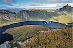Cradle Mountain et le lac Dove, Cradle Mountain-Lake St Clair National Park, Tasmania, Australie