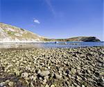 lulworth cove dorset coast england gb uk