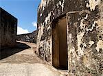 A view inside the Castillo de San Felipe del Morrow.