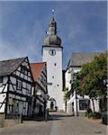 Historic Old Town, Arnsberg, Hochsauerland, North Rhine-Westphalia, Germany