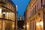 Berliner Dom und Museumsinsel bei Nacht, Berlin, Deutschland