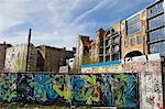 Graffiti auf der Berliner Mauer, Berlin, Deutschland