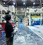 Travailleur en usine