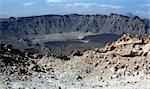 Mountains in El Teide national park on Tenerife island