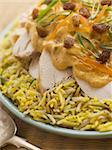 Coronation Chicken and Rice Salad