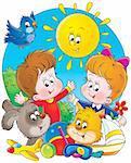 Isolated clip-art / children's book illustration for your design