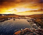 Gorgeous winter scene in the Falkland Islands