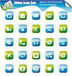 SET 3 - Shiny Icons: Generic environmental and communications