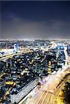 Night city, Tel Aviv night, Israel