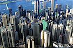 crowded buildings in Hong Kong