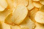 photo shot of potato chips