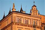 Old building in Krakow, Poland - main square.
