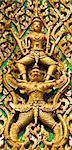 beautiful decoration of a thai buddhist temple