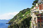 Italy. Cinque Terre. Colorful Manarola village