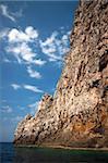 Coastal rock view, Corfu, Greece