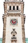 An image of the Hamburg city hall clock