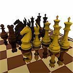 Chess - 3D Render