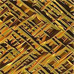 Background illustration of shiny gold surface