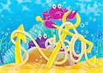 children's book illustration for your design, cover, scrapbook, etc.