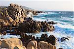 High Waves and Rocky Coastline, Baia Santa Reparata, Santa Teresa Gallura, Province Olbia-Tempio, Sardinia, Italy