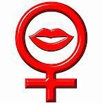 Female love concept