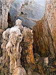 Cave inside island Lastovo, Croatia.