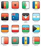 Afghanistan, Albania, Algeria, Andorra, Angola, Australia, Antigua and Barbuda, Argentina, Armenia, Austria, Azerbaijan, Bahamas, Bahrain, Bangladesh, Barbados, Belarus