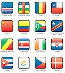 Cape Verde, Central African Republic, Chad, Chile, China, Columbia, Democratic republic of the Congo, Republic of the Congo, Costa Rica, Cote d`Ivoire, Croatia, Cuba, Cyprus, Czechia, Denmark,