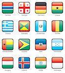 Gambia, Georgia, Germany, Ghana, Greece, Grenada, Guatemala, Guinea, Guinea-Bissau, Guyana, Haiti, Honduras, Hungary, Iceland, India, Indonesia