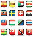 Spain, Sri Lanka, Sudan, Surinam, Swaziland, Sweden, Switzerland, Syria, Taiwan, Tajikistan, Tanzania, Thailand, Togo, Tonga, Trinidad and Tobago, Tunisia