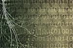 A Biotech Futuristic Alien Background Pattern Texture