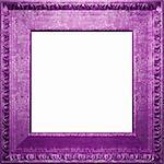 metal antique frame made 3 D graphics